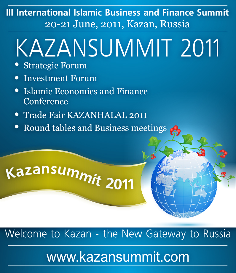 Preparation for 3rd International Islamic Business and Finance Summit (KAZANSUMMIT 2011) is beginning