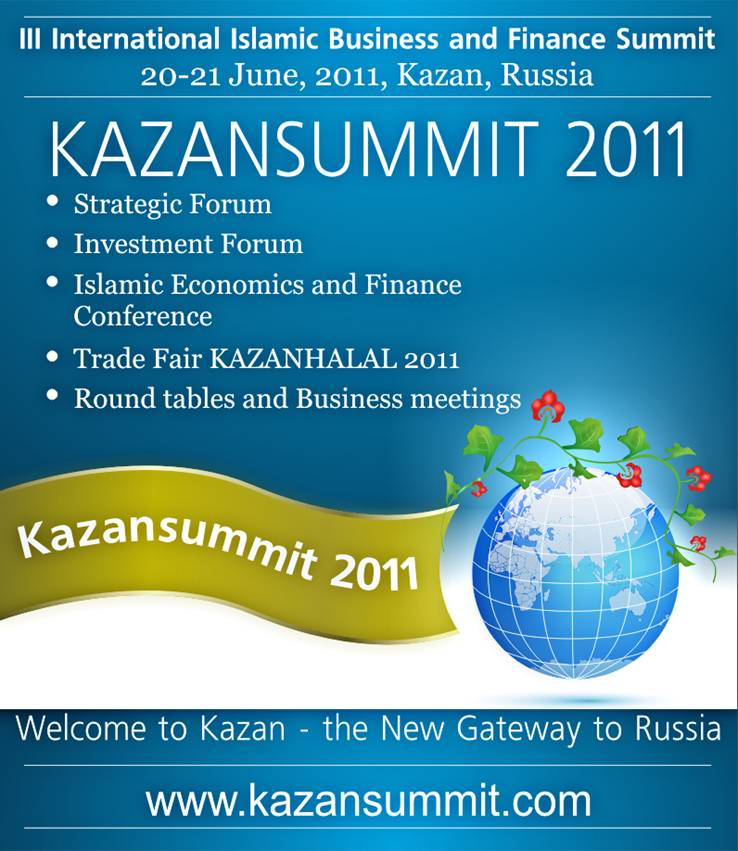 KAZANSUMMIT 2011 will supported by foreign companies