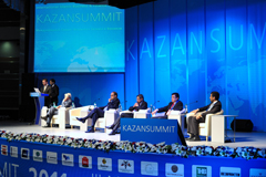 The Council of the Federation of Russia takes part in preparations for KazanSummit 2013
