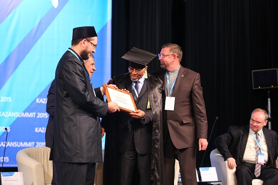 President of the Islamic Development Bank was awarded the title of Honorary Professor of the Russian Islamic University